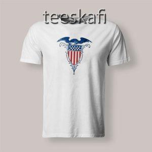 Tshirts Vintage Shield American Eagle Stars