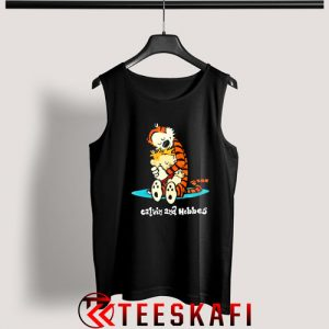 Tank Top Calvin and Hobbes [TBlack]