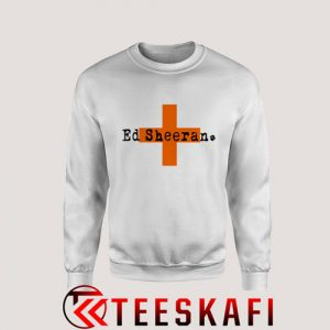 Sweatshirt Ed Sheeran Croos [TWhite]