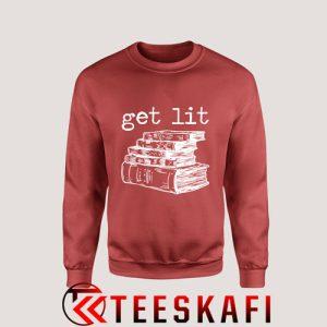 Sweatshirt Get Lit Book [TB]