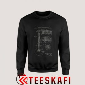 Sweatshirt Gibson Les Paul