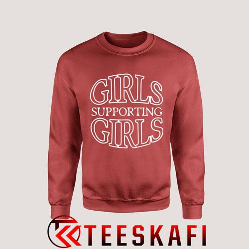 Sweatshirt Girls Supporting Girls