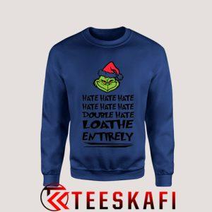 Sweatshirt Grinch Christmas