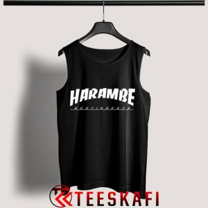 Tank Top Harambe Rest In Peace