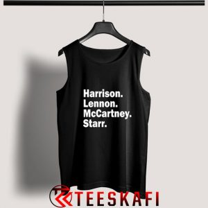 Tank Top Harrison Lennon Mccartney Starr [TB]
