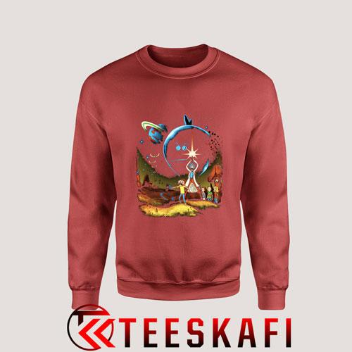 Sweatshirt Star Wars Rick & Morty Space Adventure [TB]