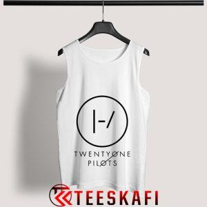 Tank Top Twenty One Pilots Blurryface Logo [TW]