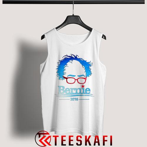 Tank Top Bernie Sanders 2016 Blue