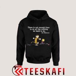 Hoodies Calvin And Hobbes Black