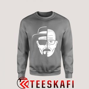 Sweatshirt Good Design Breaking Bad Two Face