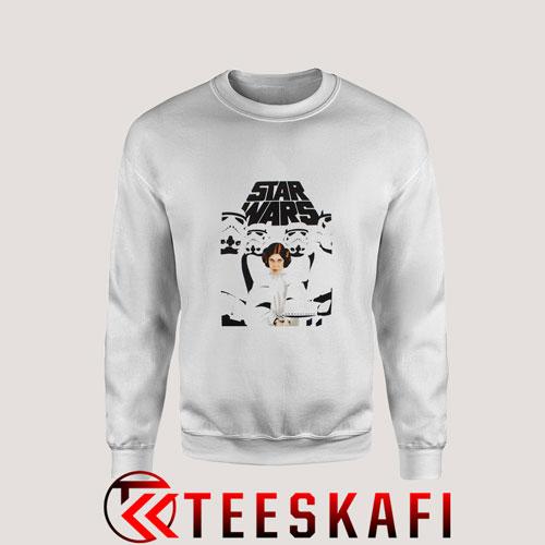 Sweatshirt Star War Liea
