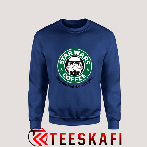 Sweatshirt Star Wars Coffee Stormtrooper