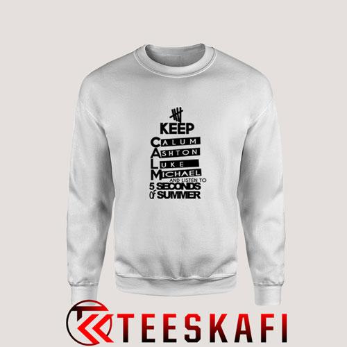 Sweatshirt 5 Second Of Summer Logo