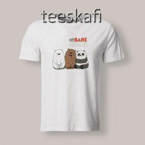 Tshirts We Bare Bears