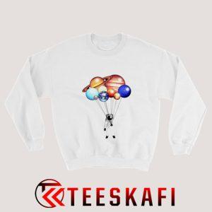 Sweatshirt Planet Balloons