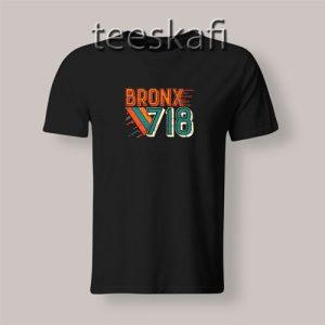 Tshirt Vintage Bronx 718 Unisex