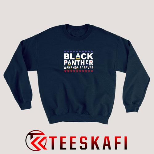 Sweatshirt Black Panther Wakanda Forever