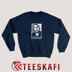 Sweatshirt Obama Change