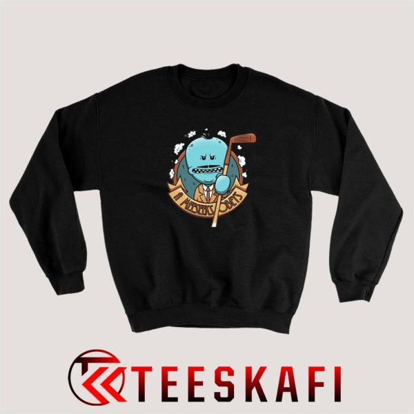 Sweatshirt Mr. Meeseeks