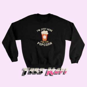 Sweatshirt Popcorn Lover