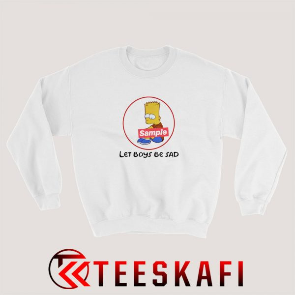 Sweatshirt Sad Simpsons