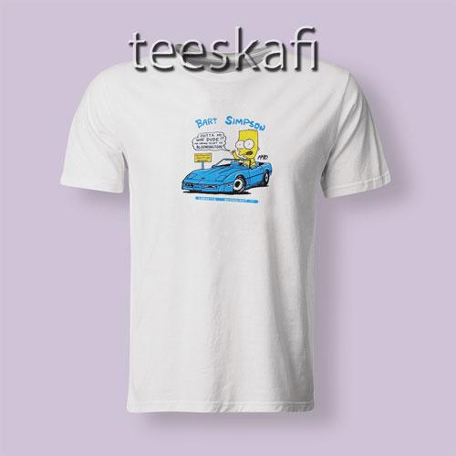 Tshirt Vintage Bart Simpson 1990