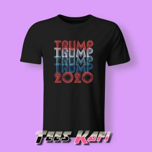 Tshirt Vintage Retro 80s Pro Trump