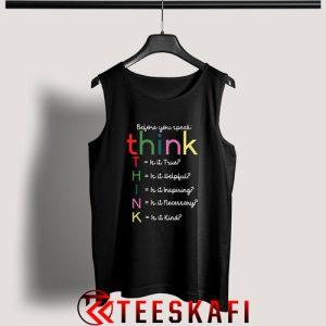 Tank Top Teacher Kindness