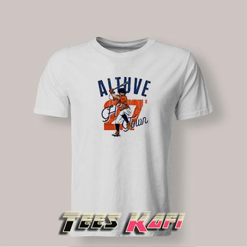 Tshirt Jose Altuve Houston Baseball