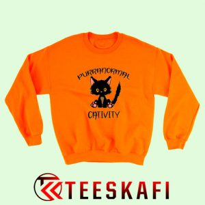 Sweatshirt Purrnomal Cativity