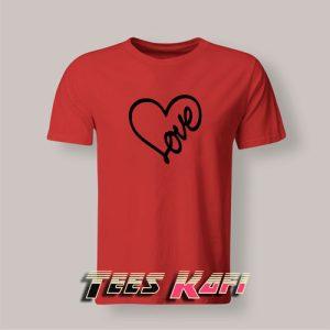 Tshirt Love Heart Valentines 300x300 - Geek Attire Store