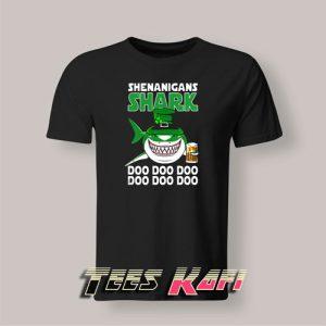Tshirt Shenanigans Shark Doo Doo Doo Happy Saint Patrick's Day 300x300 - Geek Attire Store