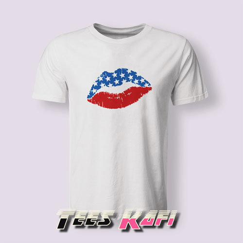 4th Of July Lips Tshirts