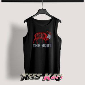 Tom Brady The Goat Tank Top