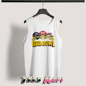 Vintage 90s Budweiser Bud Bowl Tank Top