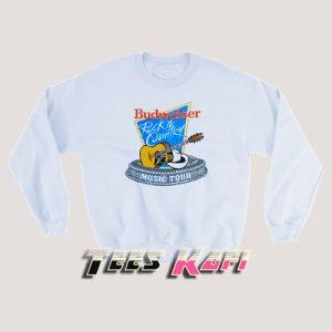 80s Country Music Budweiser Sweatshirt