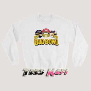 Vintage 90s Budweiser Bud Bowl Sweatshirt