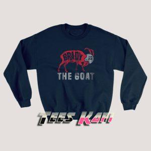 Tom Brady The Goat Sweatshirts