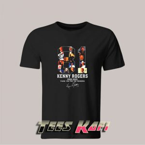 81 Kenny Rogers 1938-2020 Signature T-Shirt