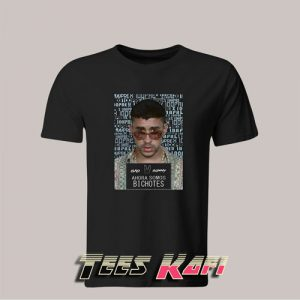 Bad Bunny X 100pre Bichotes Reggaeton Regueton Trap T-Shirt