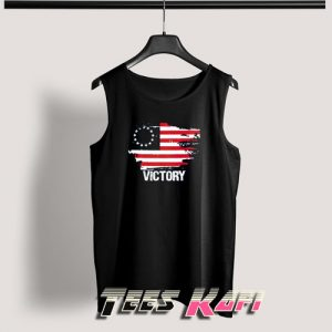 Betsy Ross American Flag Victory Tank Top