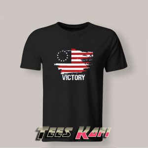 Betsy Ross American Flag Victory Tshirts Adult Size
