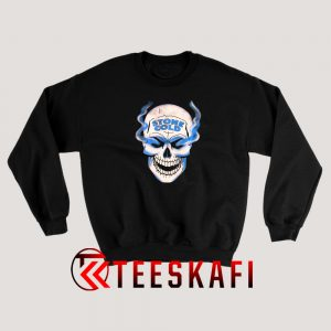 WWE Stone Cold Austin 316 Smoke Skull Sweatshirt