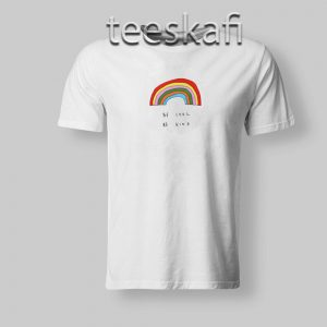 Be Cool Be Kind Rainbow T-Shirt