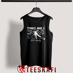 Tones And I Dance Monkey Tank Top Tones And I Size S-3XL