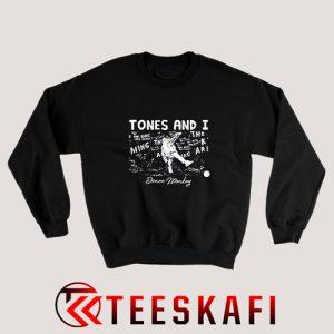 Tones and I Dance Monkey Sweatshirt Tones And I Size S-3XL