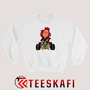 Trippie Redd Illustration Sweatshirt S-3XL