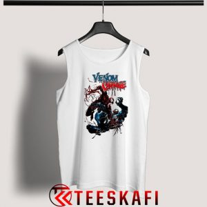 Venom Let There Be Carnage Tank Top Marvel Venom Sequel S-3XL