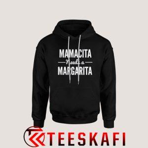 Mamacita Needs A Margarita Graphic Hoodie Size S-3XL