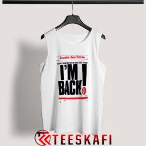 Michael Jordan Im Back Tank Top 300x300 - Geek Attire Store